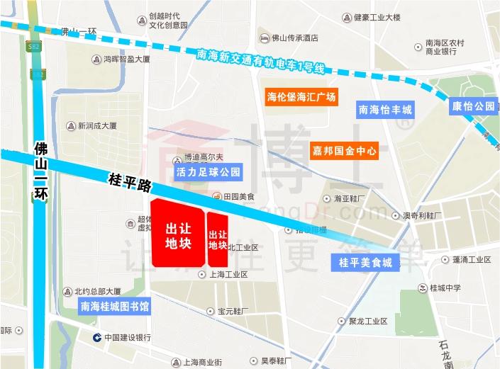 【成交】越秀62.7亿元+1万平自持竞得桂城11.7万㎡靓地