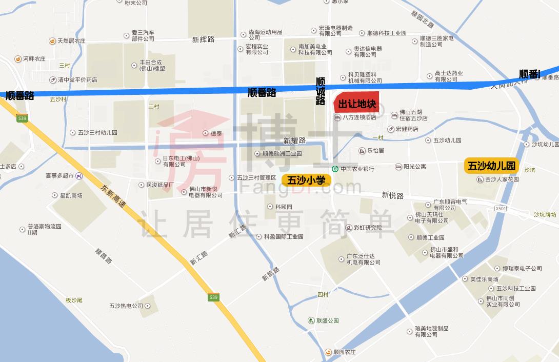 深圳尚模联合顺德凯利6.05亿竞得大良4.2万㎡商住地