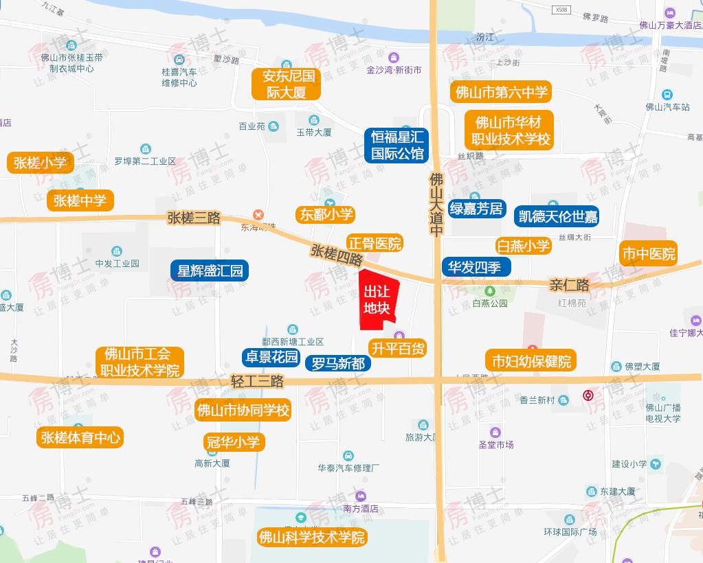 10143元/㎡!东建逾9.43亿斩获张槎中心3.58万㎡靓地