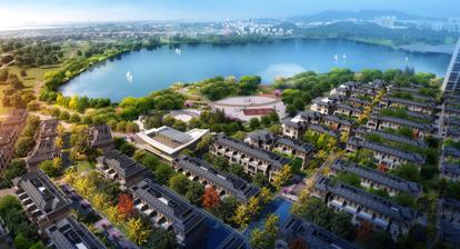—绿地·公园城,以公园大境革新居住理念,成为鹤山城市